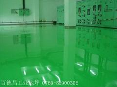 深圳環氧樹脂防靜電地坪