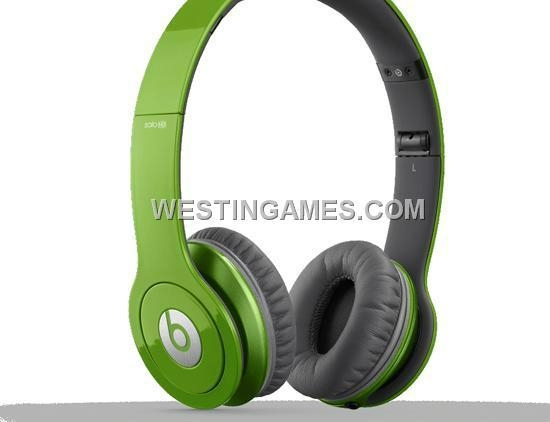 New Solo HD High Definition Over-Ear Headphones with ControlTalk for Beats - Green