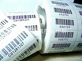 Custom Made Bar Code Adhesive Label