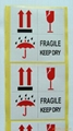 Warning Adhesive  Sticker Labelfor
