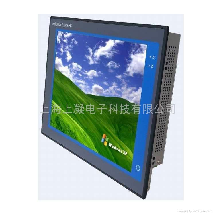15寸嵌入式工業觸摸平板電腦 1
