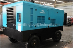 Diesel Portable Air Compressors LGCY-18/17 Portable Screw Air Compressor