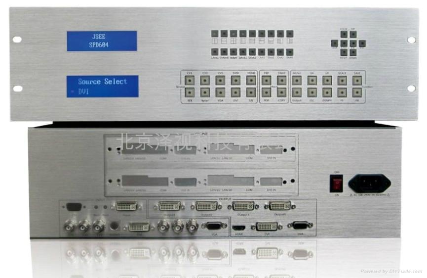 視頻拼接器(JS-SPD104) 1