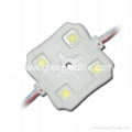 SMD5050 4LED Injection LED Modules&12V светодиодный модуль&12V LED Moduli