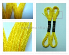 cross stich thread(mercerized cotton yarn )