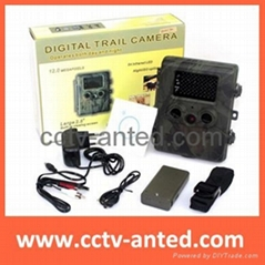 "12 Mega Pixel Hunting Camera Digital Trail Camera with MMS GPRS 2.5"" LCD TFT scr"