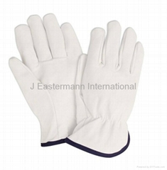 Driver Gloves Made of Leather UnLined.