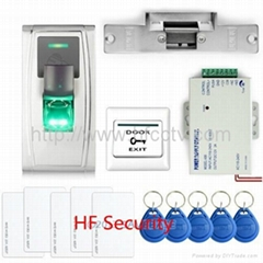 Security waterproof outdoor fingerprint access control terminal F30