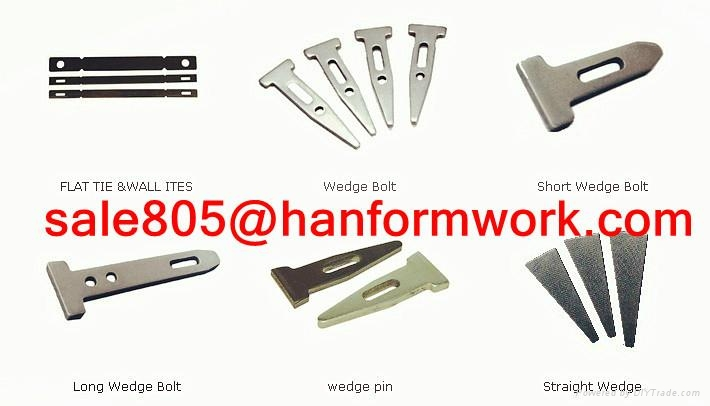 Aluminum formwork al pin wedge pin stub pin 45 200mm for Al ahram aluminium decoration