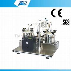 Epoxy resin 2 parts meter mix machine