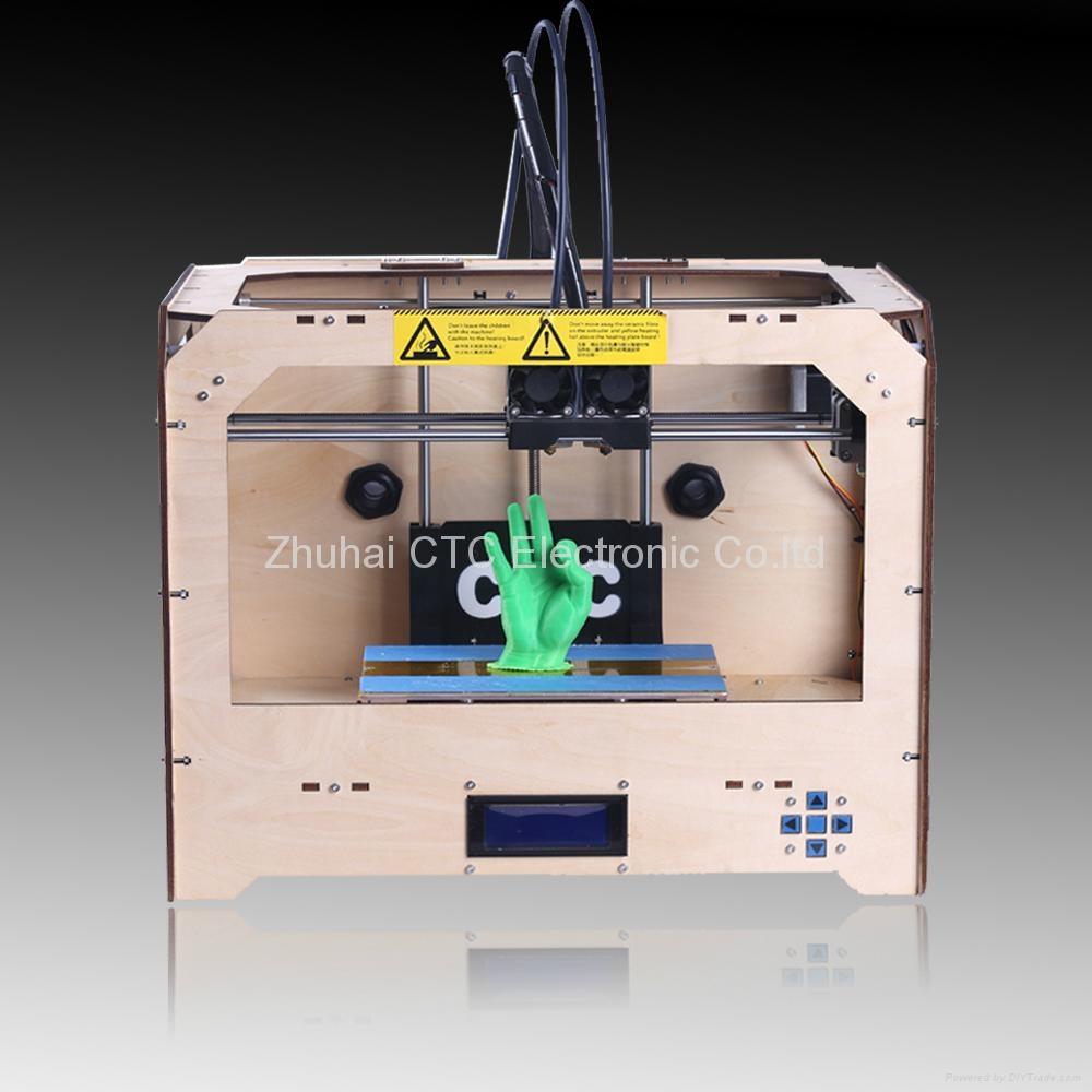 3d printer with dual extruder 3d drucker ctc jupiter china manufacturer printer cartridge. Black Bedroom Furniture Sets. Home Design Ideas
