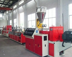 PVC cable trunkings extrusion machine