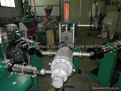 PPR fiberglass composite pipe machine