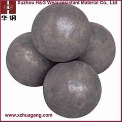 High chrome grinding media ball for mining
