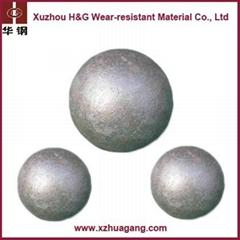 58-65HRC high chrome grinding media ball for mining