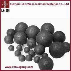 58-65HRC high chrome grinding media for mining