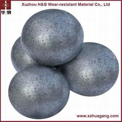 58-65HRC chrome alloyed ball for mining