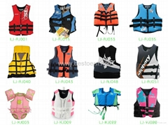 Life Jackets and Vests for Adults and Kids