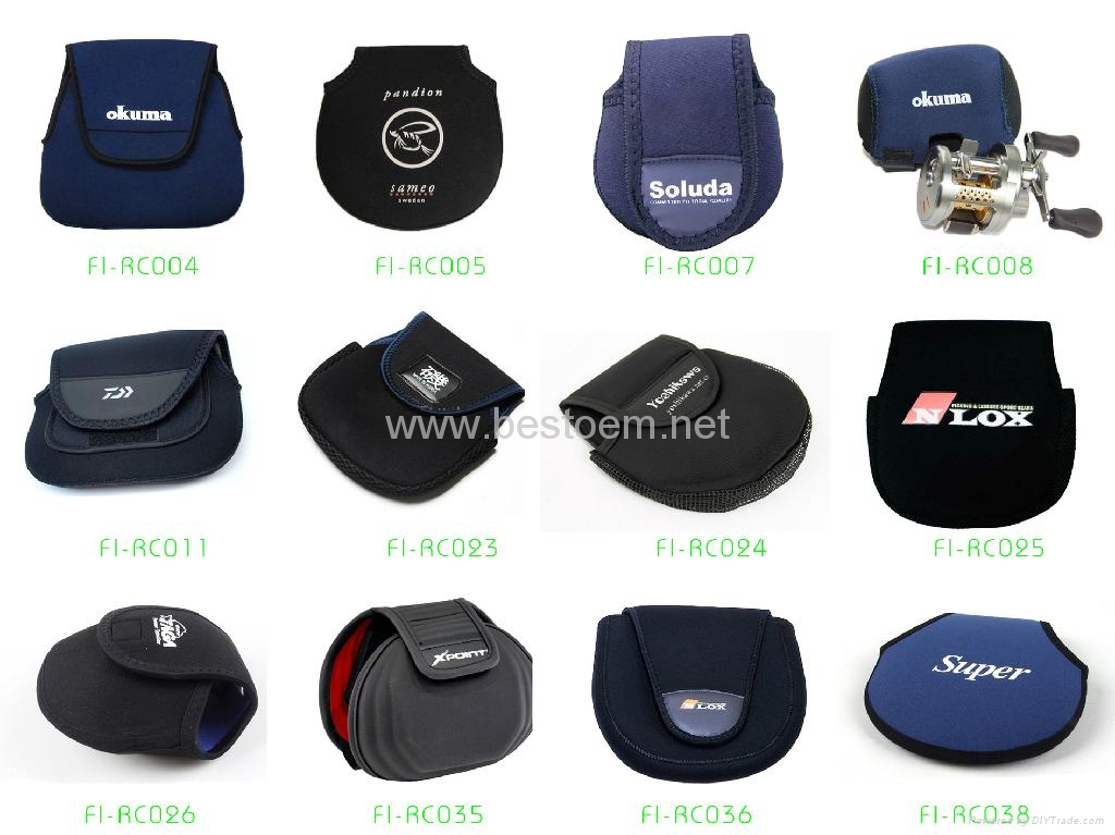 Neoprene Fishing Reel Covers Bags Pouches Fi Rc Series