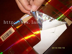Pet holographic film for tobacco packaging.jpg