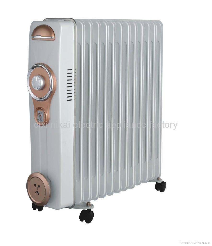 Electric Oil Radiator ~ Electric heater oil filled radiator b oem china