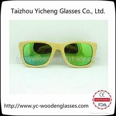 2014新款男女時尚木質竹木太陽鏡FS0105