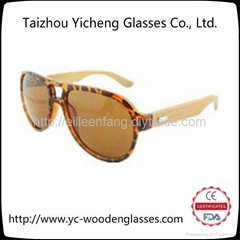2014新款男女時尚木質竹木太陽鏡 YS0201