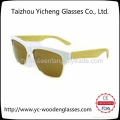2014新款男女時尚木質竹木太陽鏡 YS0210