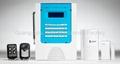 aolin Wireless easy Home Alarm System 1