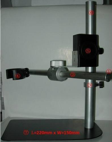 顯微鏡帶橫杆支架SM36B 1