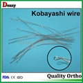 Dental Kobayashi ligature wires