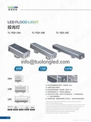 36W 144W led flood light IP65 led spot light