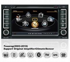 Car DVD player For VW Touareg With GPS Navi Radio BT iPod 3G WiFI