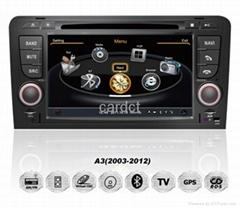 Car DVD Player for Audi A3 With GPS Navi Radio BT iPod 3G WIFI