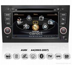 Car DVD Player For Audi A4 With GPS Navi Radio BT iPod 3G WIFI