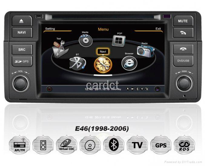 Car DVD Player For BMW 3 Series E46 With GPS Navi Radio BT iPod 3G WIFI 1