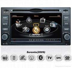 Car DVD Player For Kia Cerato Sorento With GPS Navi Radio BT iPod 3G WIFI