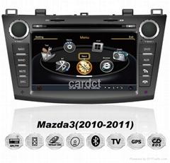 Car DVD Player For Mazda 3 With GPS Navi Radio BT iPod 3G WIFI