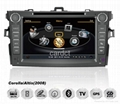 Car DVD Player For Toyota Corolla With