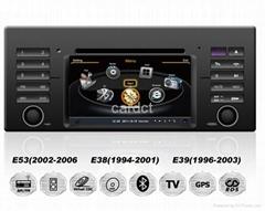 Car DVD Player For BMW E39 X5 With GPS Navi Radio BT iPod 3G WIFI