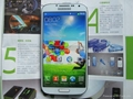 samsung s4 i9500 copy,mtk6582,3g,Quad-core,samsung galaxy s4 replica