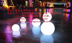 LED防水變色發光球
