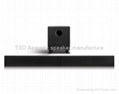Powered bluetooth Sound bar with