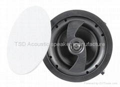 """ICM-61F 6.5"""" 2-way & 2 piece frame In-celing speaker with magnetic grill"""
