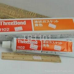 原装TB1102三键液态垫圈密封胶