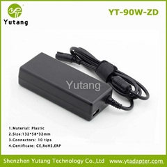 Hot sales 90W universal laptop adapter with automatic