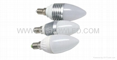 LED candle lighting, LED candle light,3W candle light