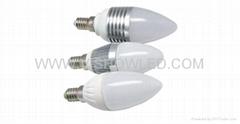 LED candle lighting, LED candle light,3W candle light