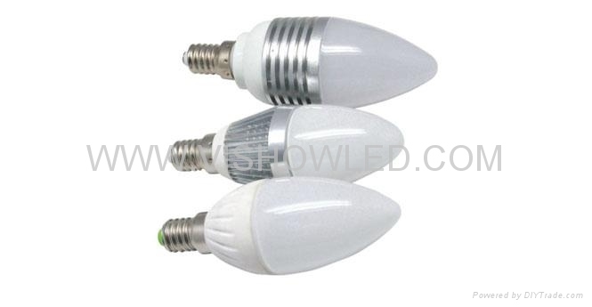 LED candle lighting, LED candle light,3W candle light 1