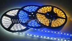 Color Changing 5 Meters DC 12V 150 LEDs Tri-Chip Flexible LED Strip Light